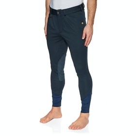 Derby House Elite Mens Winter Mens Riding Breeches - Navy