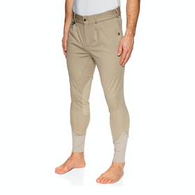 Derby House Elite Mens Winter Mens Riding Breeches - Beige