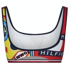 Tommy Hilfiger Printed Bralette Womens ビキニトップス