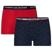 Tommy Hilfiger 2 Pack Print Boxer Shorts