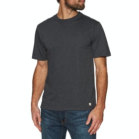 Armor Lux Mc Uni Herit Men's Short Sleeve T-Shirt - Ebony