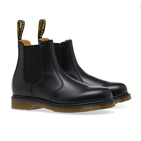 Dr Martens 2976 Boots - Black Smooth
