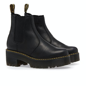 Dr Martens Rometty Damen Stiefel - Black Wyoming