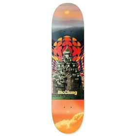 Primitive Mcclung Temple Skateboard Deck - Multi