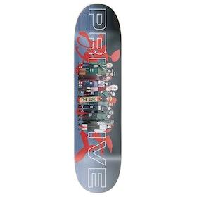 Primitive Naruto Leaf Village Skateboard Deck - Multi
