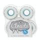 Ricta Clouds White 78a 54mm Skateboard Wheel