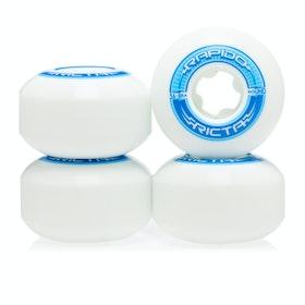 Ricta Rapido Round 101a 56mm Skateboard Wheel - White