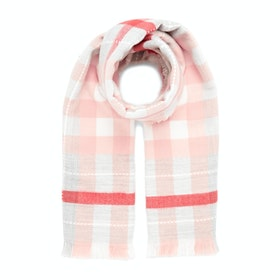 Joules Stamford Damen Schal - Pink Check