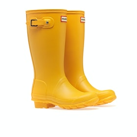 Hunter Original Kinder Gummistiefel - Yellow