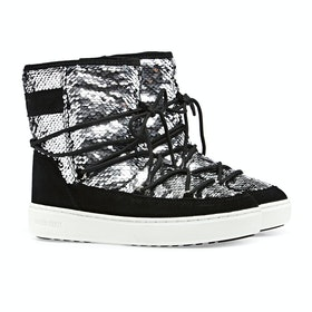 Botas Moon Boot Pulse Mid Disco - Black