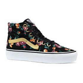 Vans Sk8-hi Platform 2.0 Shoes - Oversized Lace Floral True White