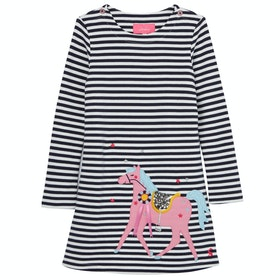 Joules Kaye Girl's Dress - Nvystphors