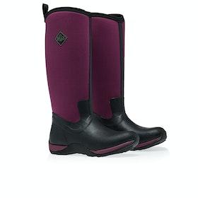 Muck Boots Arctic Adventure Women's Wellington Boots - Black Maroon