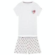 Tommy Hilfiger Ss Short Set Woven B Women's Pyjamas