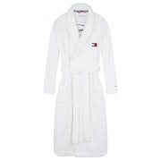 Dressing Gown Donna Tommy Hilfiger Towelling Robe Signature