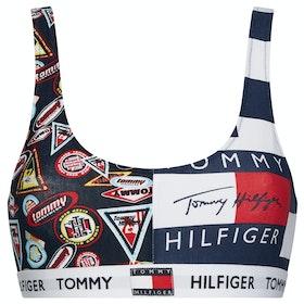Tommy Hilfiger Bralette Print Damen BH - Navy Blazer
