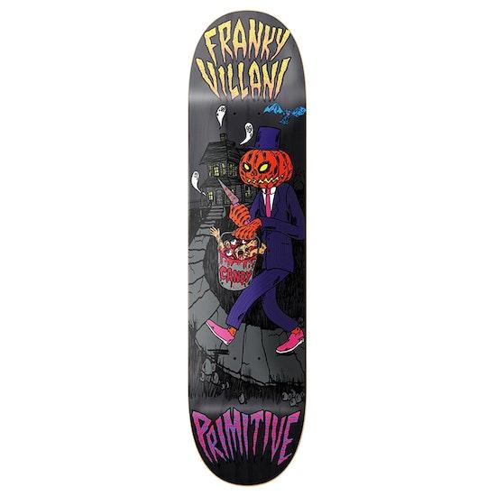 Primitive Villani Pumpkin Skateboard Deck