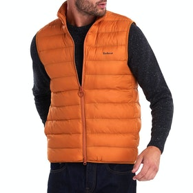 Barbour Bretby Quilted Men's Gilet - Marmalade