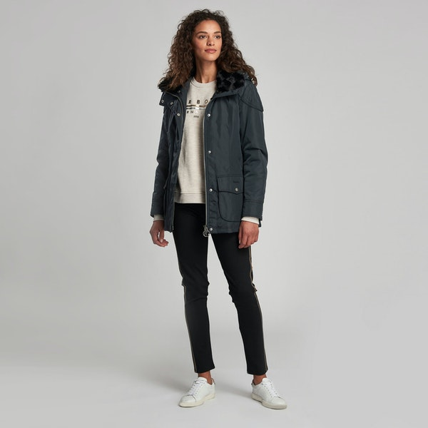 Barbour International Outlaw Women's Waterproof Jacket