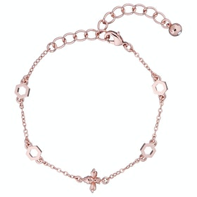 Ted Baker Beddia: Bumble Bee Chain Bracelet - Rose Gold
