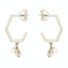 Ted Baker Bedza Bumble Bee Hoop Damski Earrings