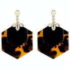Ted Baker Honzza Bumblebee Honeycomb Women's Earrings