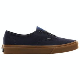 Vans Authentic Gum Trainers - Night Sky True Navy