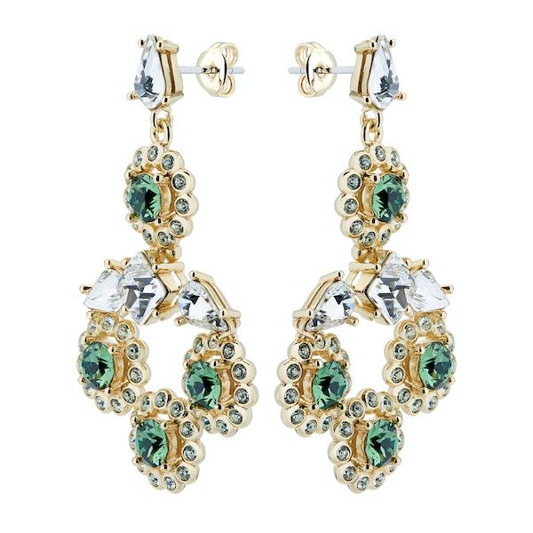 Ted Baker Lralina Daisy Crystal Daisy Large Drop Earrings