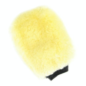 Lincoln Sheepskin Grooming Mitt - Natural Wool