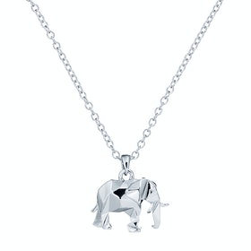 Ted Baker Serenia Elephant Pendant Necklace - Silver