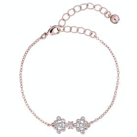 Ted Baker Brinnal Small Crystal Bow Bracelet Bracelet - Rose Gold/crystal