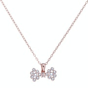 Necklace Ted Baker Brizla Small Crystal Bow Pendant