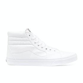 Chaussures Vans Sk8 Hi - True White
