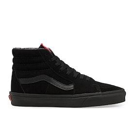 Chaussures Vans Sk8 Hi - Black Black