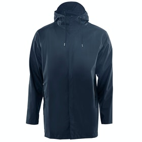 Rains Short Coat Jacke - Blue