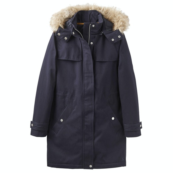 Joules Aspen with Removable Hood Dames Jas