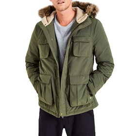Jack Wills Bromhead Men's Down Jacket - Olive