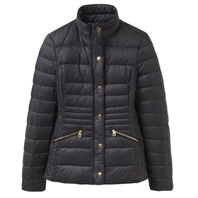 Joules Moritz Padded Feather Women's Down Jacket - Black