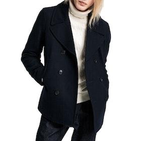 Gant The Classic Pea Jacket - Evening Blue