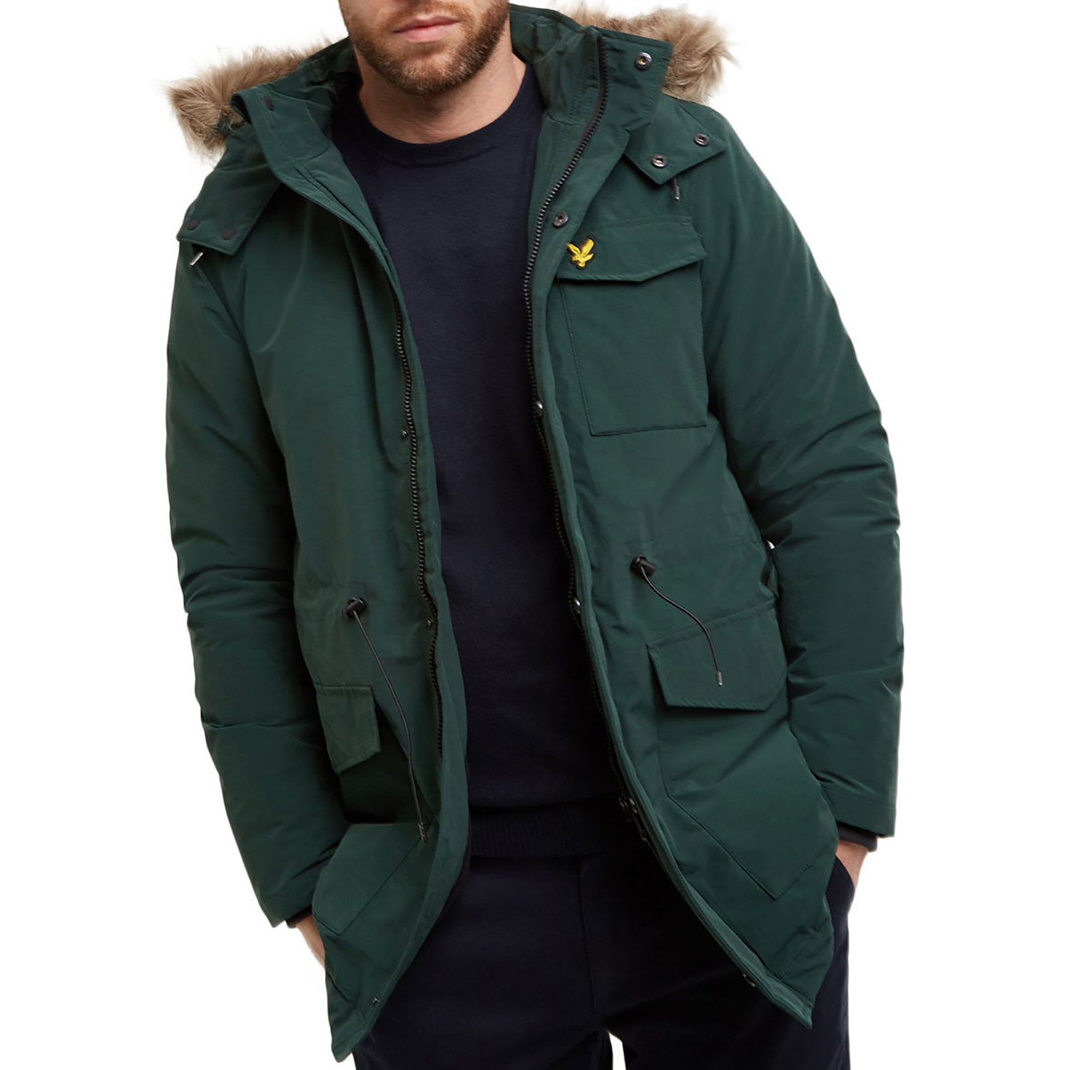 Lyle & Scott Winter Weight Microfleece Jacket Jade Green