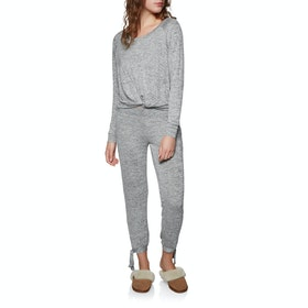 UGG Fallon Set Dames Pyjama - Grey Heather