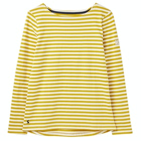 Joules Harbour Ladies Top - Gold Stripe