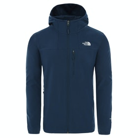 North Face Nimble Hooded Windproof Jacket - Blue Wing Teal