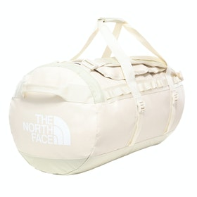 North Face Base Camp Medium Duffle Bag - Vintage White TNF White