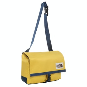 North Face Berkeley Satchel - Bamboo Yellow Blue Wng Teal