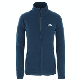 Polaire Femme North Face 100 Glacier Full Zip - Blue Wing Teal