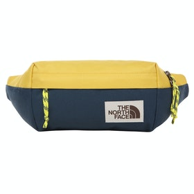 North Face Lumbar Bum Bag - Bamboo Yellow Blue Wing Teal