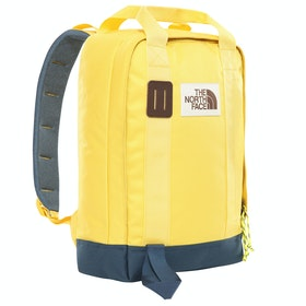 North Face Tote Backpack - Bamboo Yellow Blue Wing Teal