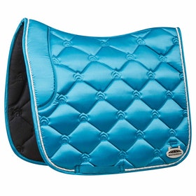 Weatherbeeta Regal Luxe Dressage Saddle Pad - Turquoise Duke