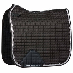 Weatherbeeta Prime Bling Dressage Saddle Pad - Black